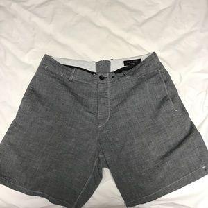 Wolf Grey Rag and Bone Shorts